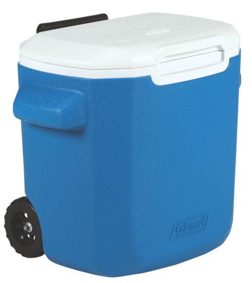 16 Qt Personal Wheeled Cooler - Blue