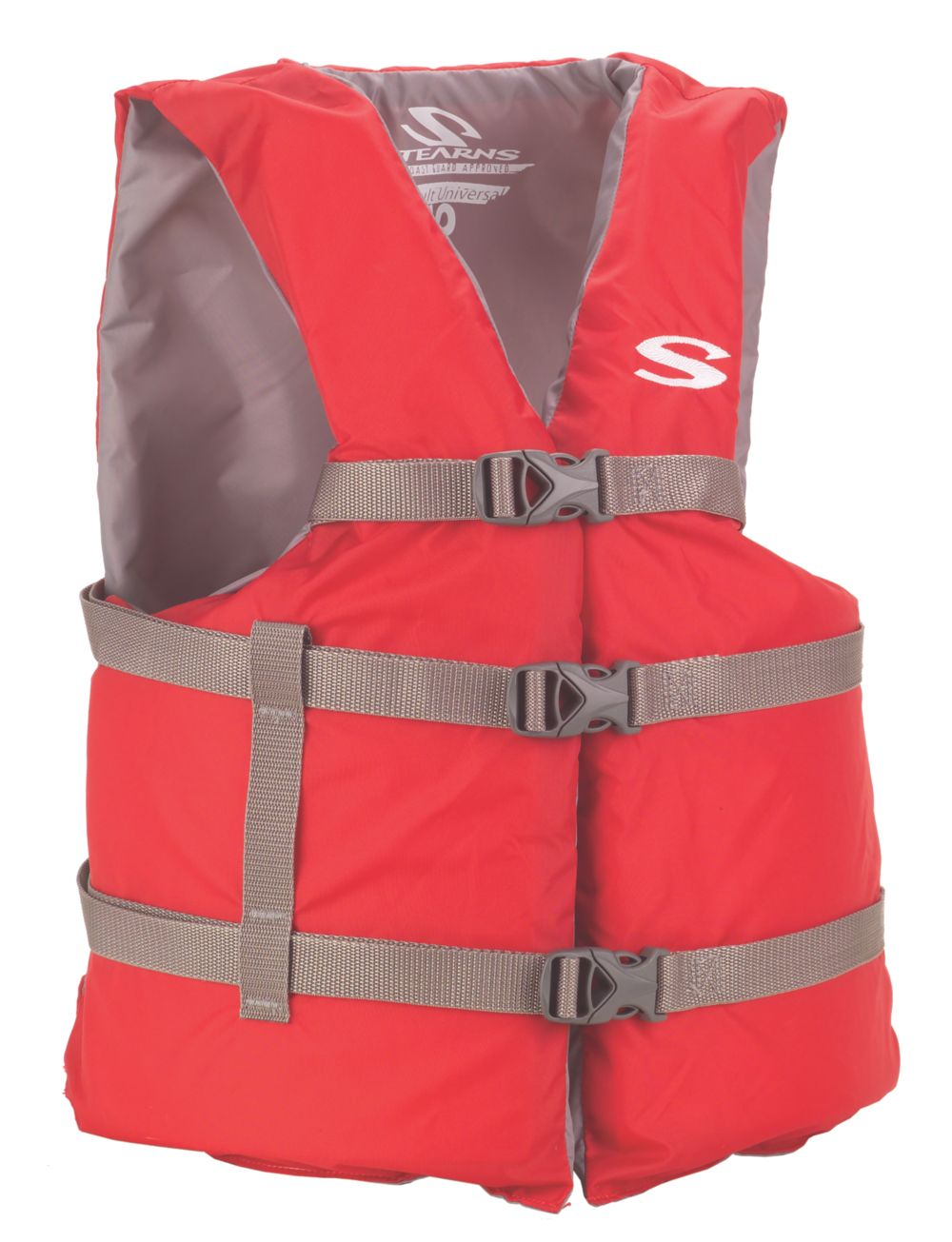 Adult Nylon Universal Vest - Red
