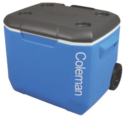 57L Wheeled Cooler Blue/Dark Grey