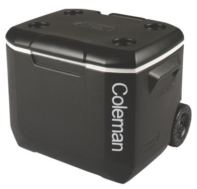 Cooler 57L Wheeled Black Silver BCF