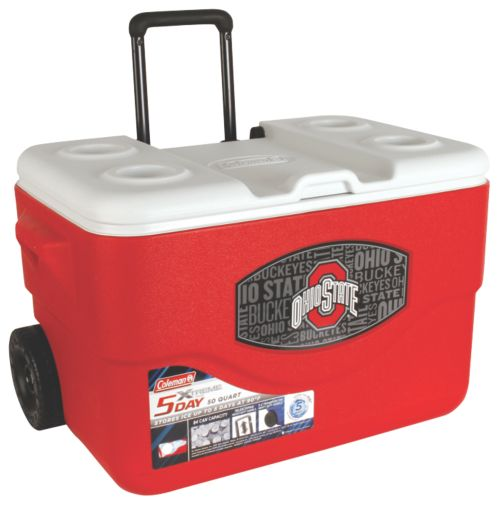 50 Qt Xtreme® Wheeled Cooler - Ohio State