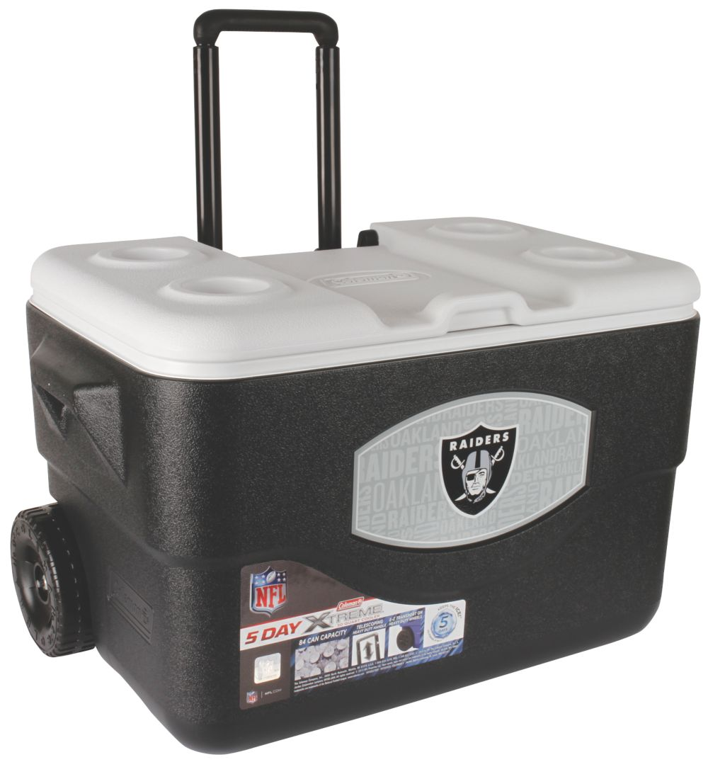 50 Qt Xtreme® Wheeled Cooler - Oakland Raiders