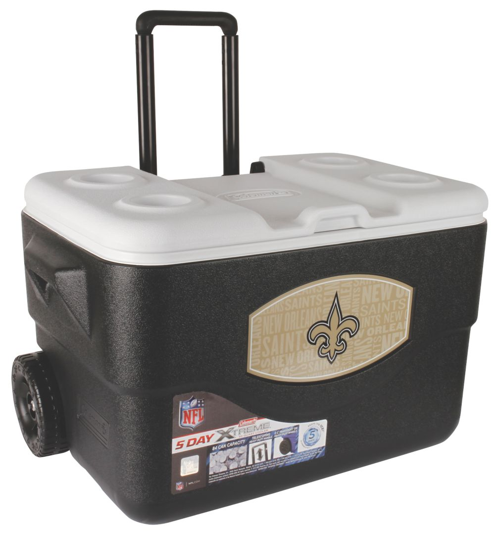 50 Qt Xtreme® Wheeled Cooler - New Orleans Saints