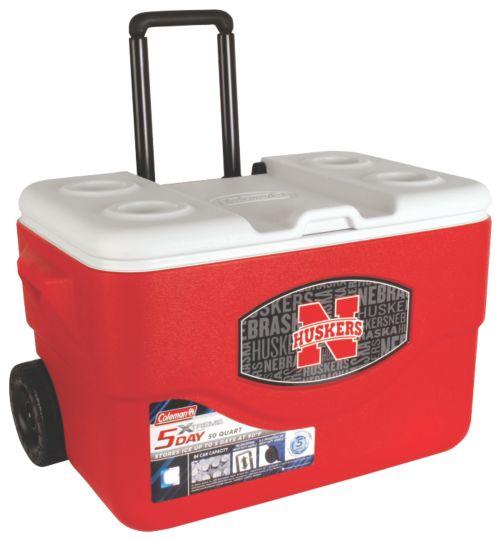 50 Qt Xtreme® Wheeled Cooler - Nebraska