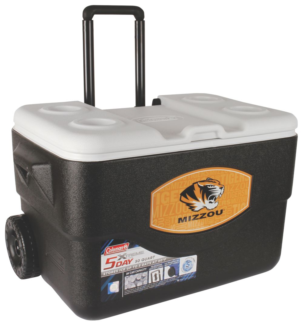 50 Qt Xtreme® Wheeled Cooler - Missouri