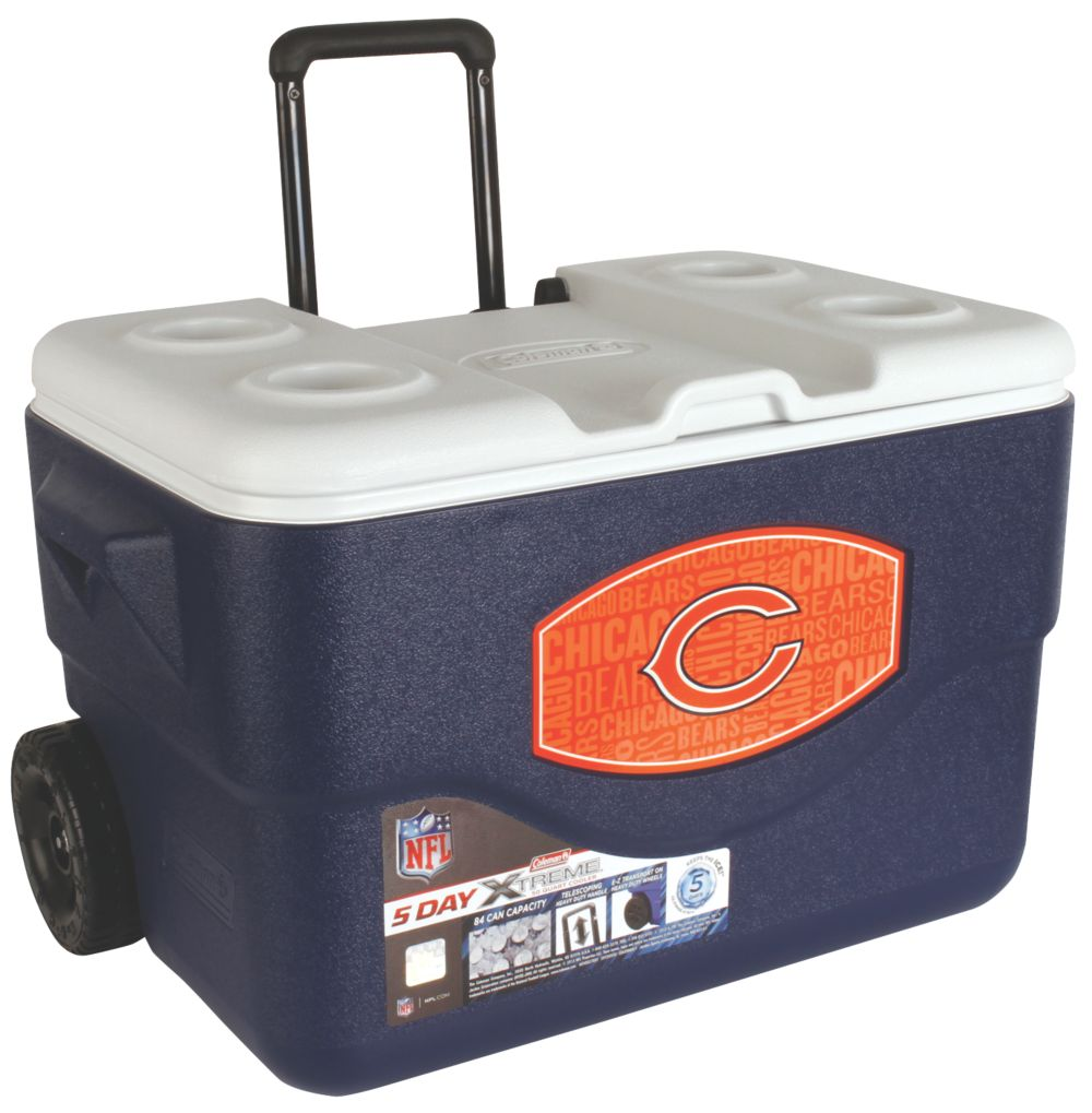 50 Qt Xtreme® Wheeled Cooler - Chicago Bears