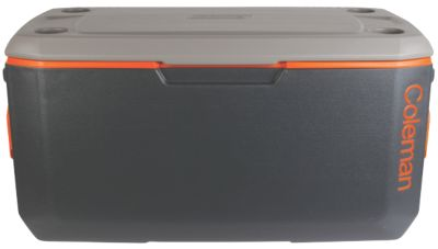 120 QT XTREME® COOLER - DARK GREY/ ORANGE/GREY