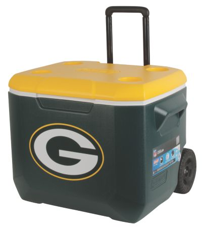 60 Quart Performance Wheeled Cooler - Green Bay Packers