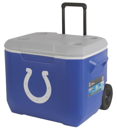 60 Quart Performance Wheeled Cooler - Indianapolis Colts