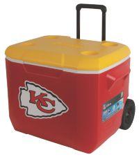 60 Quart Performance Wheeled Cooler - Kansas City Chiefs