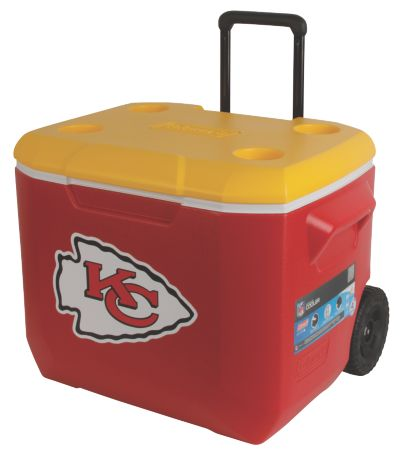 60 Quart Performance Wheeled Cooler - Kansas City Chiefs