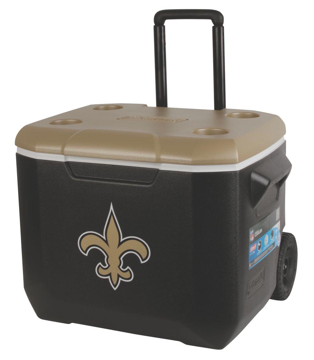 60 Quart Performance Wheeled Cooler - New Orleans Saints