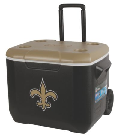 60 Quart Performance Wheeled Cooler - New Orleans Saints
