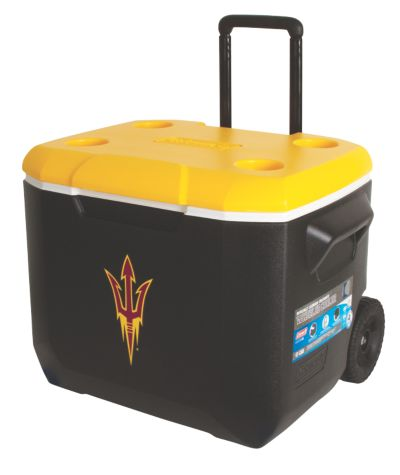 60 Quart Performance Wheeled Cooler - Arizona State Sun Devils