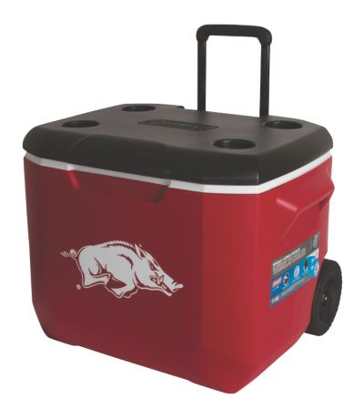 60 Quart Performance Wheeled Cooler - Arkansas Razorbacks
