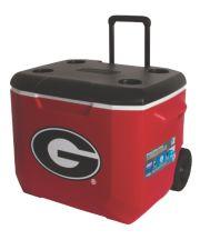 60 Quart Performance Wheeled Cooler - Georgia Bulldogs