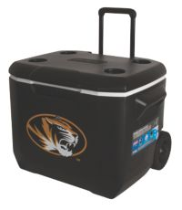 60 Quart Performance Wheeled Cooler - Mizzou Tigers