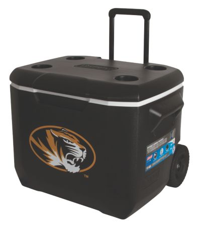 60 Quart Performance Wheeled Cooler - Mizzou Tigers