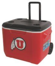 60 Quart Performance Wheeled Cooler - Utah Utes