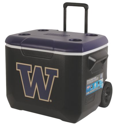 60 Quart Performance Wheeled Cooler - Washington Huskies