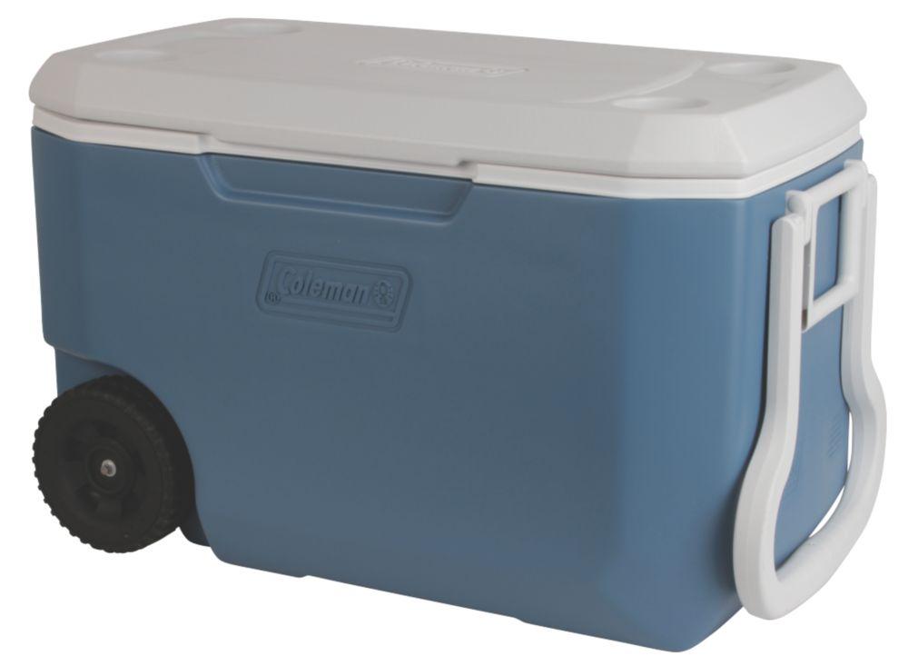 Glacière à roues Xtremeᴹᴰ 5 de 58,5 litres (62 ptes US) – Bleu