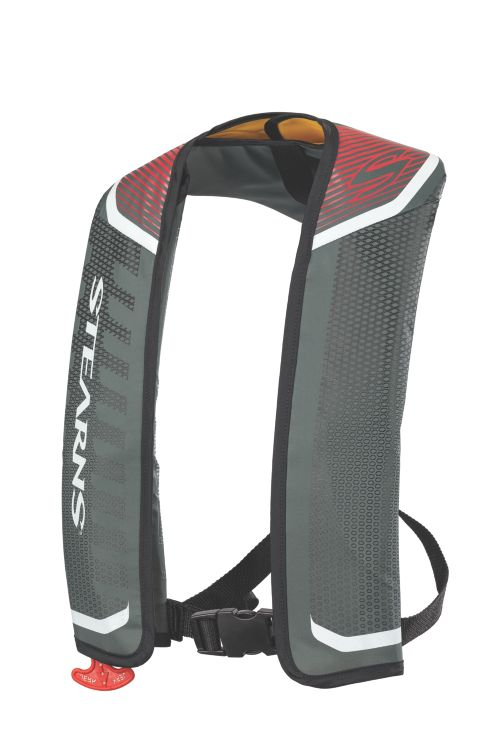 Fast Pack 24G Auto-Manual Inflatable - Red/Silver
