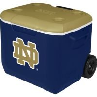 60 Quart Performance Wheeled Cooler - Notre Dame