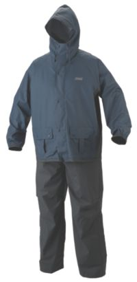 Men's .35mm PVC/Polyester Rain Suit