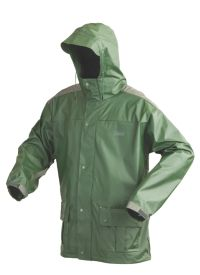 Men's PVC Nylon Jacket