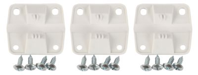"HINGE SET - 2""H x 2-1/4""W hinges - 3 hinges, 12 screws - can interchange with parts 5283-1141 & 5256-1851"