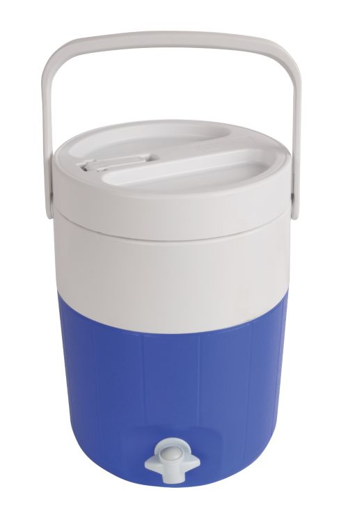 2-Gallon Jug with Faucet and Spout - Blue