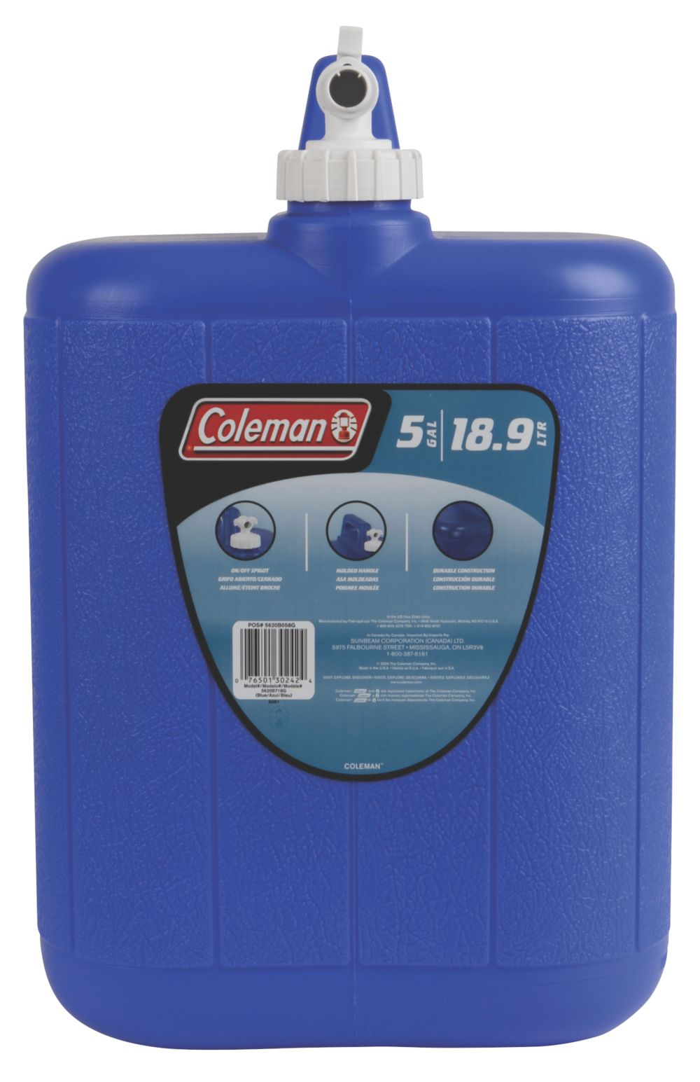 5 Gallon Water Carrier