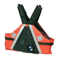 Adult Industrial Low Profile SAR Paddle Vest