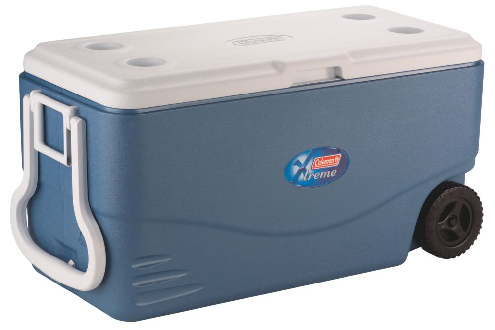 100 QT Wheeled Xtreme™ 5 Cooler - Iceberg Blue