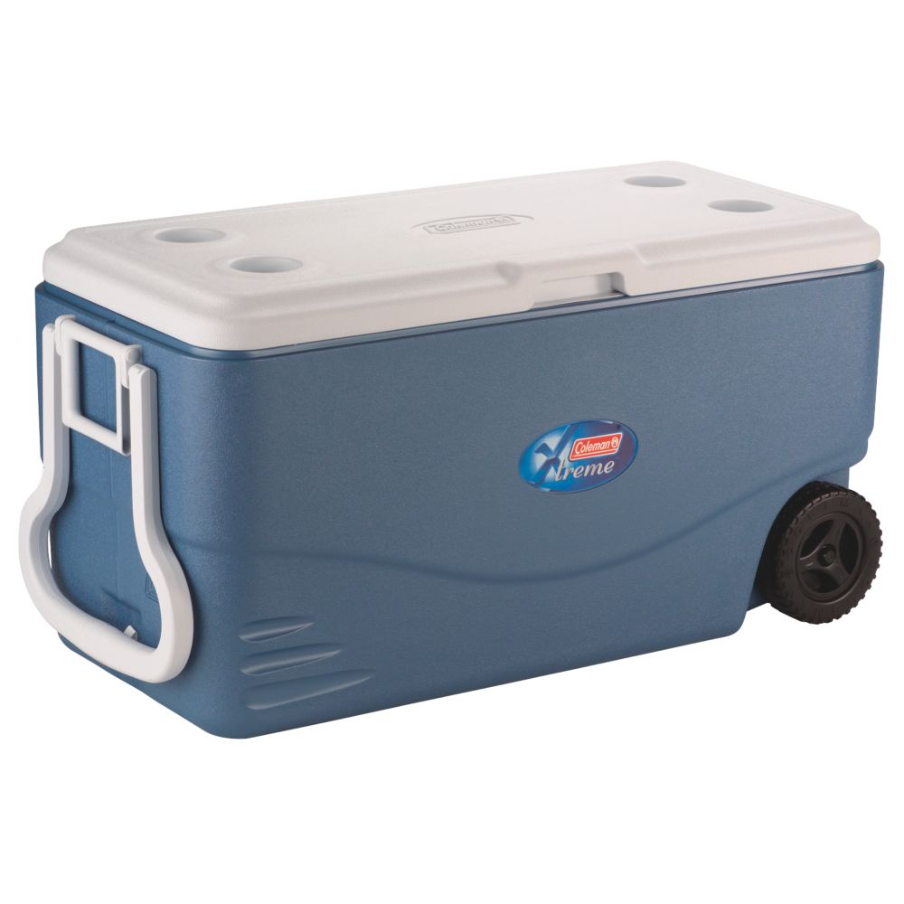 130 Can Cooler Wheeled Cooler Coleman
