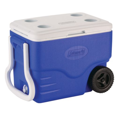 Coleman Coolers With Wheels Portable Beverage Cooler