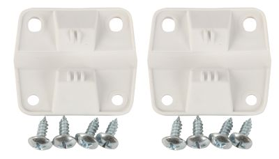"HINGE SET - 2""H x 2-1/4""W hinges - 2 hinges, 8 screws - can interchange with parts 5283-1141 & 5256-1851"