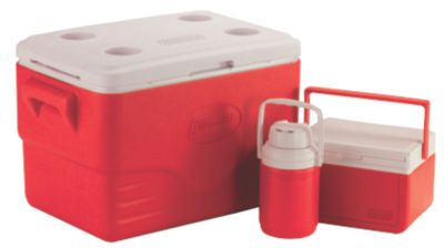 3-Piece 36 Quart Cooler Combo