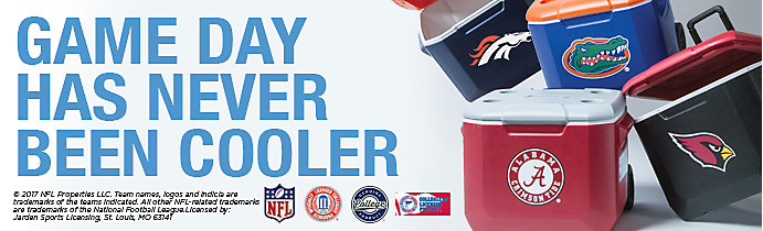 Coleman NFL and NCAA coolers