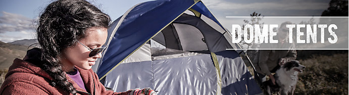 Coleman Dome Tents