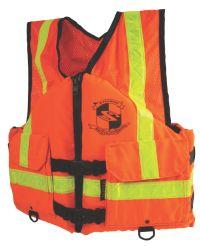 Adult Industrial Work Zone Gear Vest ANSI ORG