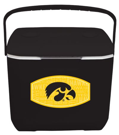 30 Quart Cooler - Iowa Hawkeyes