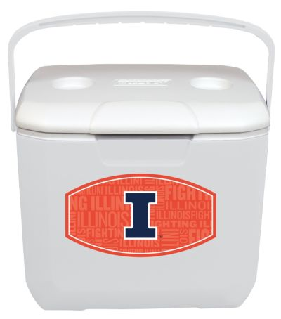 30 Quart Cooler - Illinois Fighting Illini