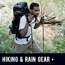 Coleman Hiking & Rain Gear