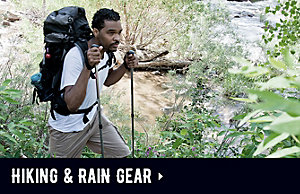 Coleman Hiking & Rain Gear