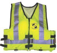 Adult Industrial Work Zone Gear Vest ANSI GRN