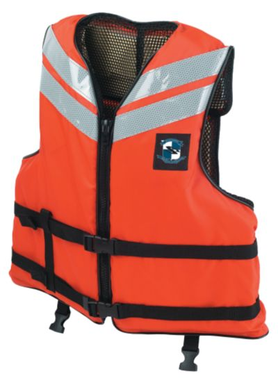 Adult Industrial Work Boat Vest