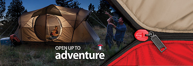 Get outdoors with Coleman® camping tents - the #1 name in tents. From easy up tents like instant tents and Coleman® Fast Pitch™ Tents to dome tents and backpacking tents, Coleman makes camping easy. Start planning your next outdoor adventure.