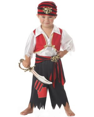 Boys Ahoy Matey Pirate Costume for Toddlers