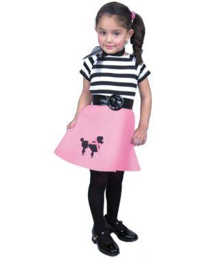 50s Toddler Poodle Dress Costume